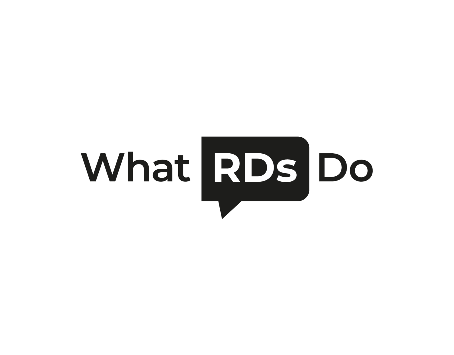 What RDs Do logo